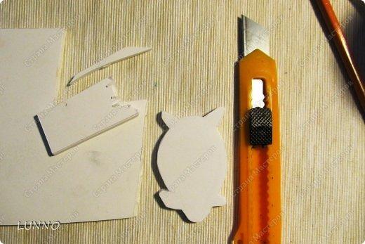 Мастер-класс Украшение Роспись Чудо-броши своими руками Картон Клей Краска фото 3