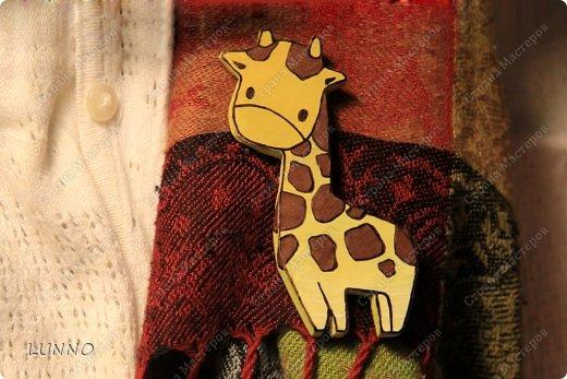 Мастер-класс Украшение Роспись Чудо-броши своими руками Картон Клей Краска фото 13