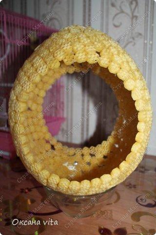 Мастер-класс Моделирование конструирование мк пасхальное яйцо из макарон Продукты пищевые фото 5