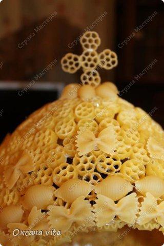 Мастер-класс Моделирование конструирование мк пасхальное яйцо из макарон Продукты пищевые фото 10