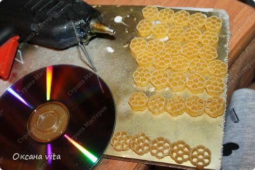 пасхально яйцо из макарон в собранном виде фото 13