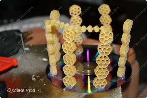 Мастер-класс Моделирование конструирование мк пасхальное яйцо из макарон Продукты пищевые фото 15