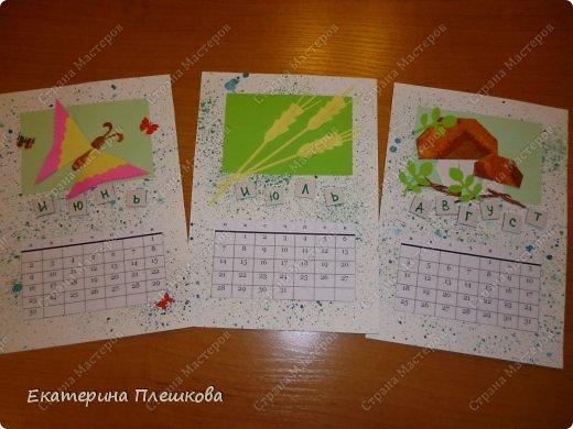 Спасибо огромное ГОЛУБКЕ. Идею календаря я увидела у неё - потрясающие работы. https://stranamasterov.ru/node/689332 https://stranamasterov.ru/node/483107  фото 12