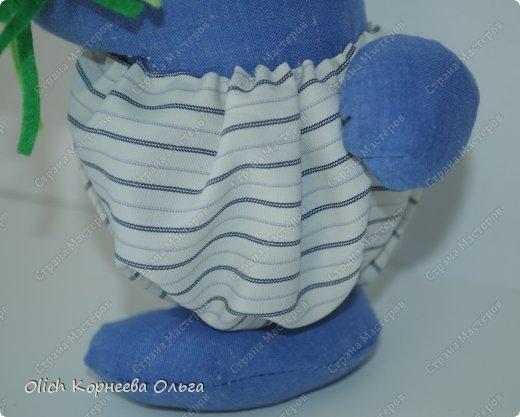 Игрушка Мастер-класс Пасха Лепка Шитьё Пасхальные кролики Кофе Нитки Ткань Фарфор холодный Фетр Шпагат фото 10