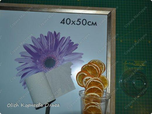 Картина панно рисунок Мастер-класс Моделирование конструирование Панно Апельсиновое дерево  Клей Кофе Краска Продукты пищевые Пряжа фото 2