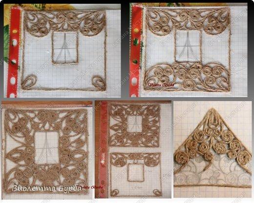 Мастер-класс Поделка изделие Моделирование конструирование Шкатулки Джутовая филигрань  Клей Шпагат фото 12