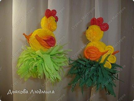 Мастер-класс Поделка изделие Пасха МК Пасхальный цыплёнок из бумажных салфеток Клей Салфетки фото 3