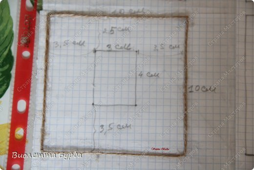 Мастер-класс Поделка изделие Моделирование конструирование Шкатулки Джутовая филигрань  Клей Шпагат фото 11