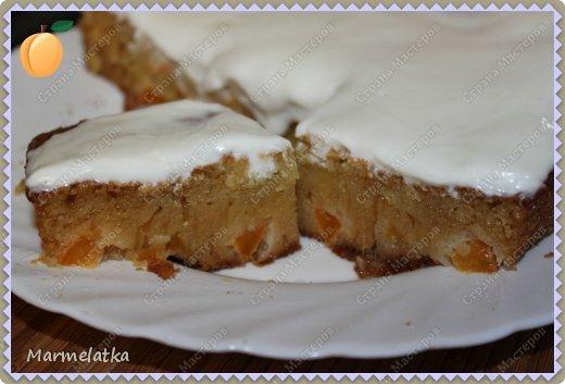 Всем привет!!! У меня вновь появилось желание готовить! И я предлогаю Вашему вниманию пирог с абрикосами, рецепт которого я нашла на просторах интернета! фото 12