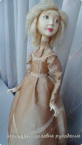 """Кукла сделана для выставки """"Секреты мастеров"""" . Проходящей с 10 апреля 2014 года в выставочном центре Нижнего Новгорда. фото 6"""