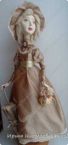 """Кукла сделана для выставки """"Секреты мастеров"""" . Проходящей с 10 апреля 2014 года в выставочном центре Нижнего Новгорда. фото 1"""