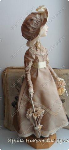 """Кукла сделана для выставки """"Секреты мастеров"""" . Проходящей с 10 апреля 2014 года в выставочном центре Нижнего Новгорда. фото 5"""