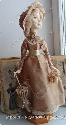 """Кукла сделана для выставки """"Секреты мастеров"""" . Проходящей с 10 апреля 2014 года в выставочном центре Нижнего Новгорда. фото 4"""