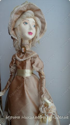 """Кукла сделана для выставки """"Секреты мастеров"""" . Проходящей с 10 апреля 2014 года в выставочном центре Нижнего Новгорда. фото 2"""