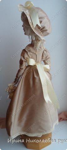 """Кукла сделана для выставки """"Секреты мастеров"""" . Проходящей с 10 апреля 2014 года в выставочном центре Нижнего Новгорда. фото 3"""