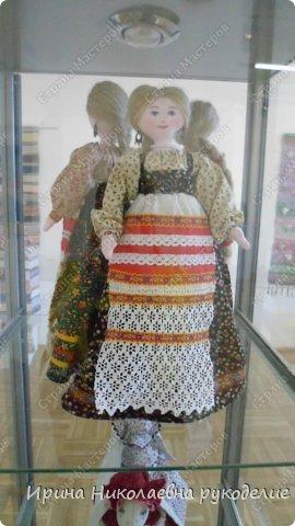 """Кукла сделана для выставки """"Секреты мастеров"""" . Проходящей с 10 апреля 2014 года в выставочном центре Нижнего Новгорда. фото 11"""