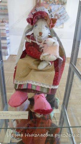 """Кукла сделана для выставки """"Секреты мастеров"""" . Проходящей с 10 апреля 2014 года в выставочном центре Нижнего Новгорда. фото 10"""