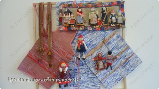"""Кукла сделана для выставки """"Секреты мастеров"""" . Проходящей с 10 апреля 2014 года в выставочном центре Нижнего Новгорда. фото 8"""