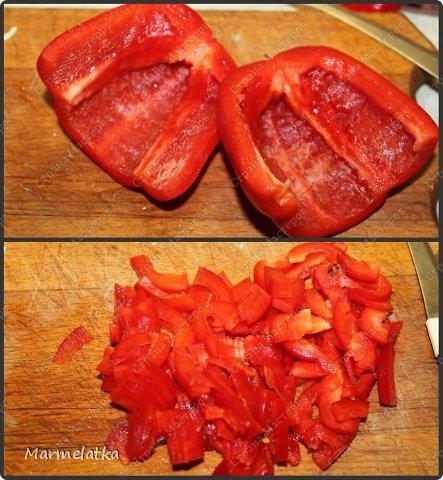 Добрый вечер! Сегодня я к Вам с салатиком. Не знаю на сколько он Берлинский, рецепт нашла в интернете, но он очень яркий, сочный и вкусный!! Попробуйте)) фото 4