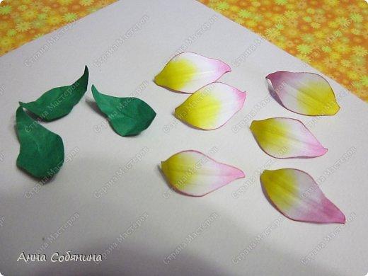 """Всем здравствуйте! Последнее время я что-то """"подсела"""" на фигурные дыроколы, сижу делаю цветочки из бумаги))). Сегодня я Вам расскажу как делаю лилии с помощью своих помощников дыроколов.  фото 6"""