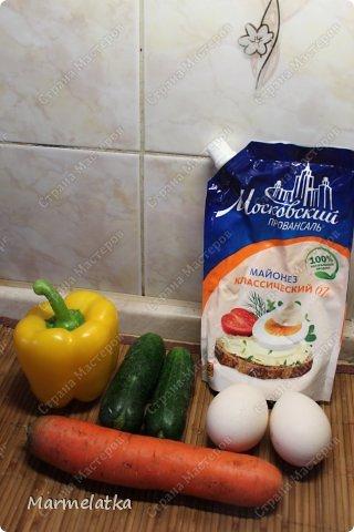 Весенний салатик к Вашему вниманию!! фото 2