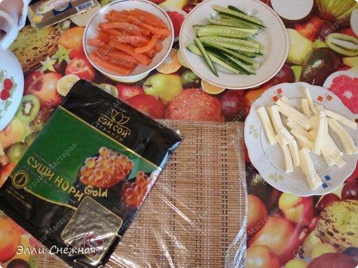 Кулинария Мастер-класс Рецепт кулинарный Роллы - готовим сами Продукты пищевые фото 9