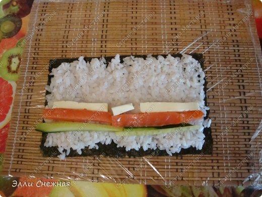 Кулинария Мастер-класс Рецепт кулинарный Роллы - готовим сами Продукты пищевые фото 11