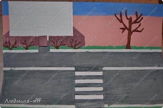 Здравствуйте мастера и мастерицы.Хочу поделиться с вами поделкой и МК на тему правила дорожного движения,которую мы с сыном делали в садик. фото 6