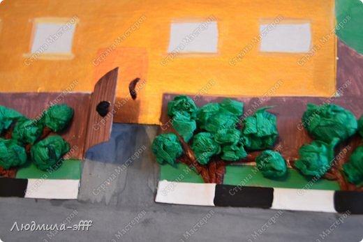 Здравствуйте мастера и мастерицы.Хочу поделиться с вами поделкой и МК на тему правила дорожного движения,которую мы с сыном делали в садик. фото 12