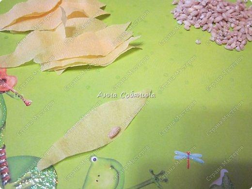 Мастер-класс Поделка изделие Моделирование конструирование Колосок из гофрированной бумаги Бумага гофрированная Крупа фото 8