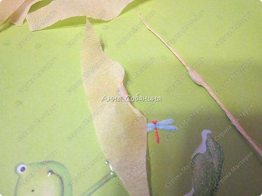 Мастер-класс Поделка изделие Моделирование конструирование Колосок из гофрированной бумаги Бумага гофрированная Крупа фото 12