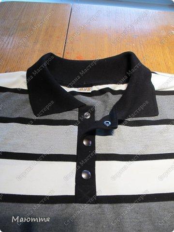 Воротник для футболки как сшить