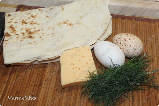 Вот такие конвертики с сыром я решила приготовить с утреца)) получилось вкусно, и как всегда очень быстро)) фото 2
