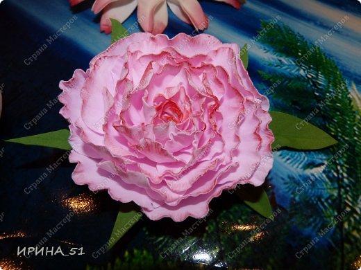 Здравствуйте! Все цветы сделаны из фоама (производитель Турция). фото 1