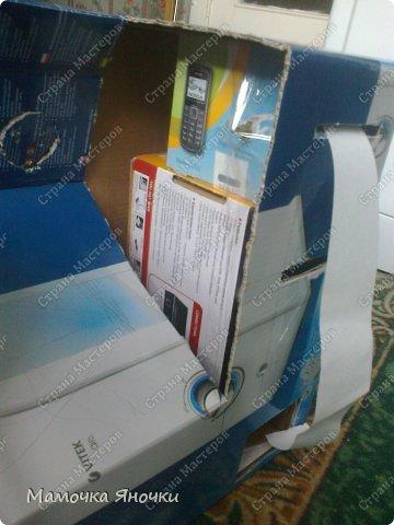 Здравствуйте, мастера! Моя доча любит банкоматы, нажимать на кнопочки, ммм... В каждом магазине не проходим мимо)) И в друг в банке меня осенило: надо моей дамочке сделать личный банкомат!!! А вот как я его соорудила. фото 4