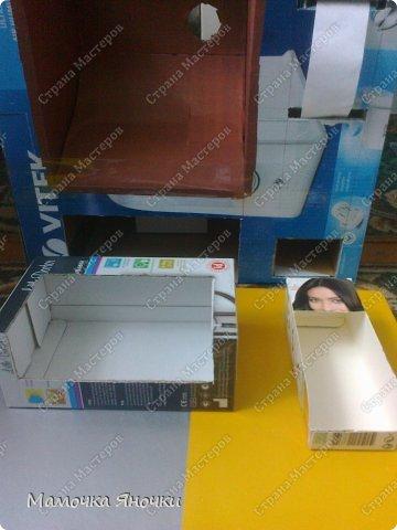 Здравствуйте, мастера! Моя доча любит банкоматы, нажимать на кнопочки, ммм... В каждом магазине не проходим мимо)) И в друг в банке меня осенило: надо моей дамочке сделать личный банкомат!!! А вот как я его соорудила. фото 9