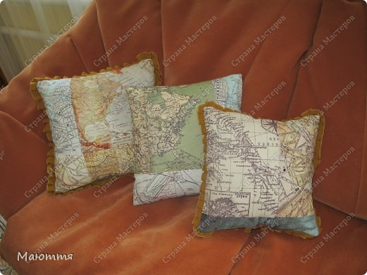 Шитье диванных подушек мастер класс инструкция #3