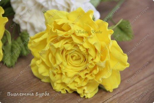 Доброе время суток, уважаемые жители СМ!!! Первый букет из таких же роз, делала в подарок, а это, его повтор. Заказ. Розы, сделаны по МК Светланы Лобович. Светочка, огромное вам спасибо!!! фото 5