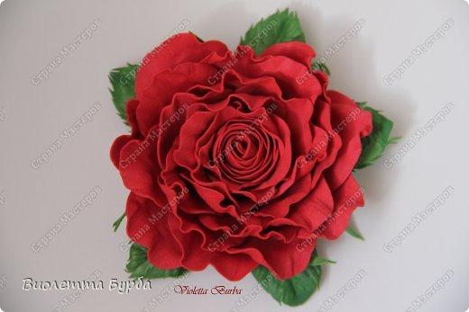 Доброе время суток, уважаемые жители СМ!!! Первый букет из таких же роз, делала в подарок, а это, его повтор. Заказ. Розы, сделаны по МК Светланы Лобович. Светочка, огромное вам спасибо!!! фото 7