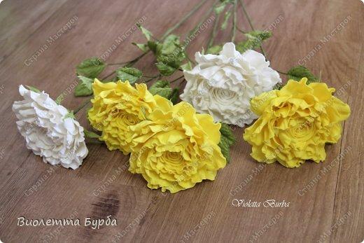 Доброе время суток, уважаемые жители СМ!!! Первый букет из таких же роз, делала в подарок, а это, его повтор. Заказ. Розы, сделаны по МК Светланы Лобович. Светочка, огромное вам спасибо!!! фото 3
