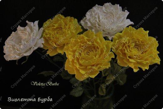 Доброе время суток, уважаемые жители СМ!!! Первый букет из таких же роз, делала в подарок, а это, его повтор. Заказ. Розы, сделаны по МК Светланы Лобович. Светочка, огромное вам спасибо!!! фото 1