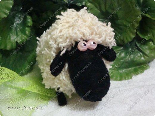 На изготовление различных зверюшек-игрушек меня вдохновили чудесные работы Сергея Федосеева. Он делает крохотных забавных зверюшек из бутылочных пробок. Мои игрушки значительно больше по размеру и технология их изготовления слегка отличается. Итак сегодня я покажу как сделать такую забавную овечку. фото 23
