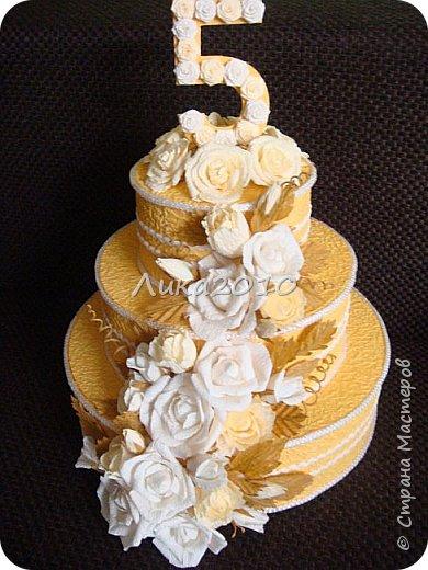 Тортик на пятилетие любимого садика!!!