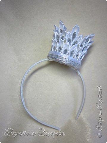 Добрый день! Делюсь с Вами моими коронами, которые делала я к новогодним утренникам.  фото 4