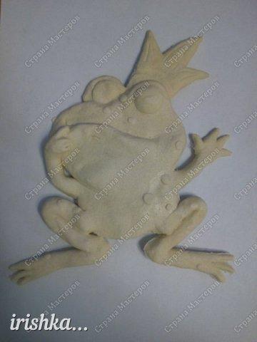 Вот такую лягушку мы сделали на выходных с братиком))) фото 2