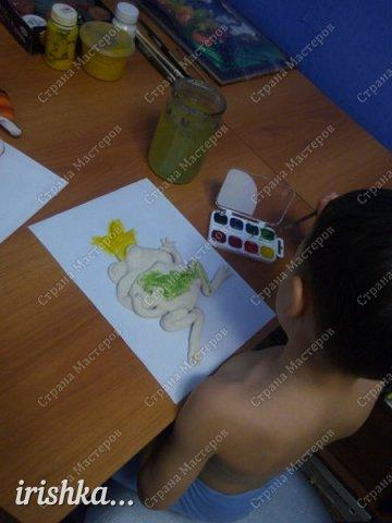 Вот такую лягушку мы сделали на выходных с братиком))) фото 4