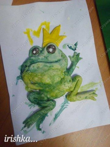 Вот такую лягушку мы сделали на выходных с братиком))) фото 5