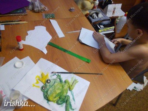 Вот такую лягушку мы сделали на выходных с братиком))) фото 7