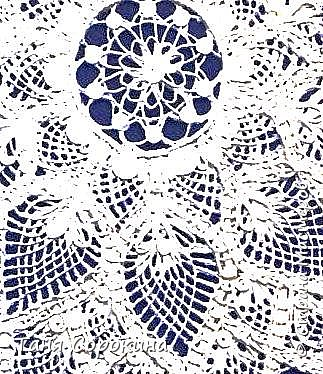 Продолжаю вдохновлять вас на интересные работы в моей технике. Сегодня показываю вам кружевную салфетку, вывязанную бумажными нитями. Мастер-класс на эту работу тоже в моей книге о технике пейп-арт. Вдохновение для конкурса http://stranamasterov.ru/node/1048330  фото 4