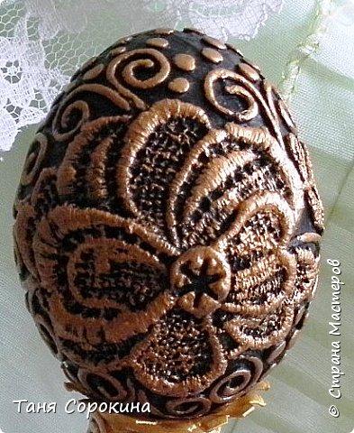 Добрый день, мои дорогие друзья! Не знаю, украшал ли кто-нибудь яйца, как это делаю я, в интернете ничего похожего не нашла, потому делаю мастер-класс по ещё одному виду украшения пасхальных яиц. На первом фото корзинка из бумажной лозы, подаренная мне чудесной мастерицей Олечкой (Оль Ха), у меня так и не хватает времени освоить эту чудесную технику. фото 12
